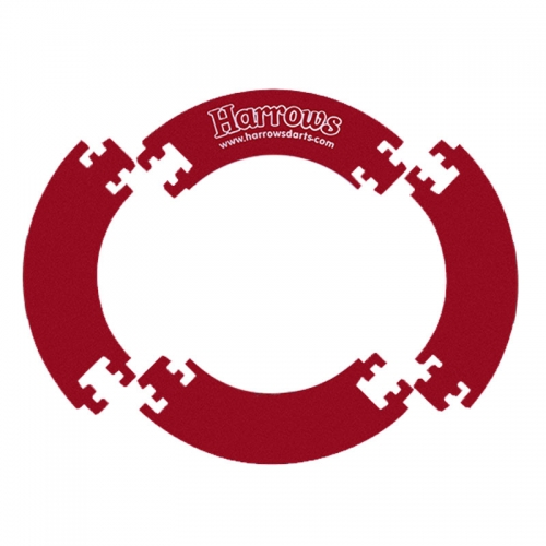 Защитное кольцо составное для дартса Harrows 4 Piece Surround - красное