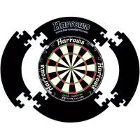 Защитное кольцо составное для дартса Harrows 4 Piece Surround - черное