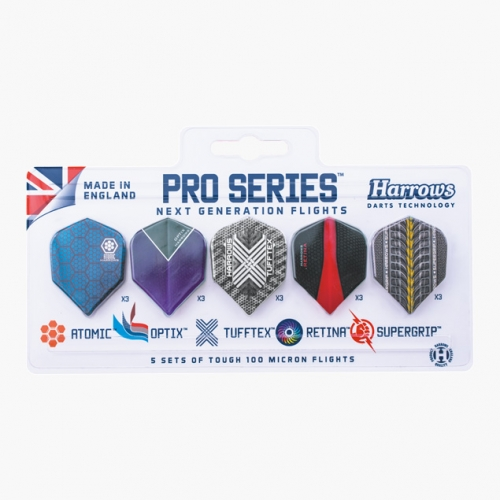 Набор оперений Harrows Pro Series из 5 комплектов