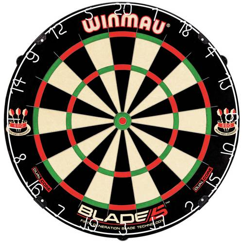 Мишень для дартса Winmau Blade 5 Dual Core – про-уровень