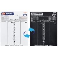 Двусторонняя доска для записи счета Winmau Scoreboard
