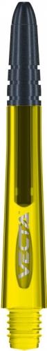 Композитные хвостовики Winmau Vecta - жёлтого цвета