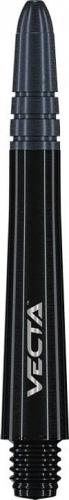 Композитные хвостовики Winmau Vecta - черного цвета
