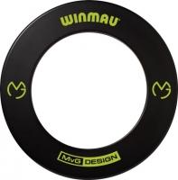 Защитное кольцо для мишени Winmau Dartboard Surround MvG (черного цвета)