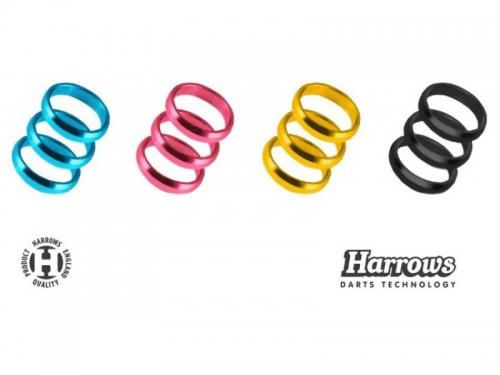 Цветные фиксирующие колечки для хвостовиков Harrows Supergrip Rings