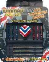 Набор из дротиков Winmau Tungsten steeltip с запчастями – для опытных