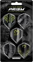 Набор из 5-ти комплектов оперений Winmau MvG Prism Flight Collection 8124