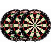 Набор мишеней для дартса Winmau Blade 5 (3 шт.) – про-уровень