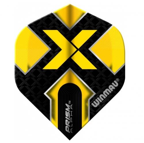 Оперение Winmau Prism Alpha X Yellow