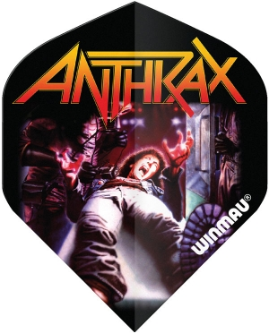 Оперения Winmau Extra Thick Anthrax
